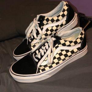 Checkered Old Skool Vans